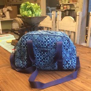 Vera Bradley Compact Sport Bag in Cuban Tiles